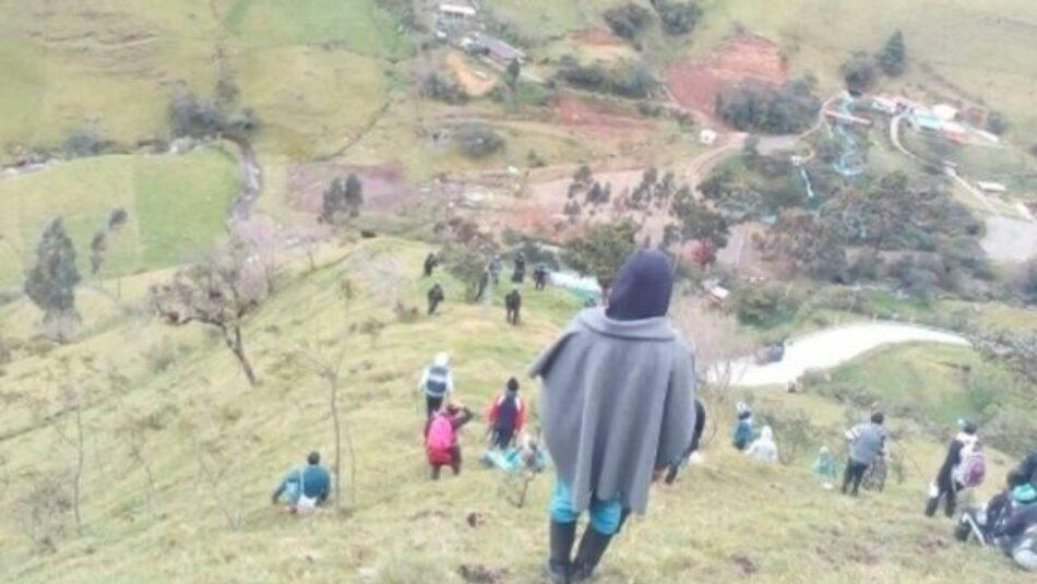 Continúa ataque de Esmad hacia comunidad indígena colombiana
