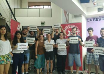 Éxito en el primer juicio de los 10 antifascistas de Zaragoza