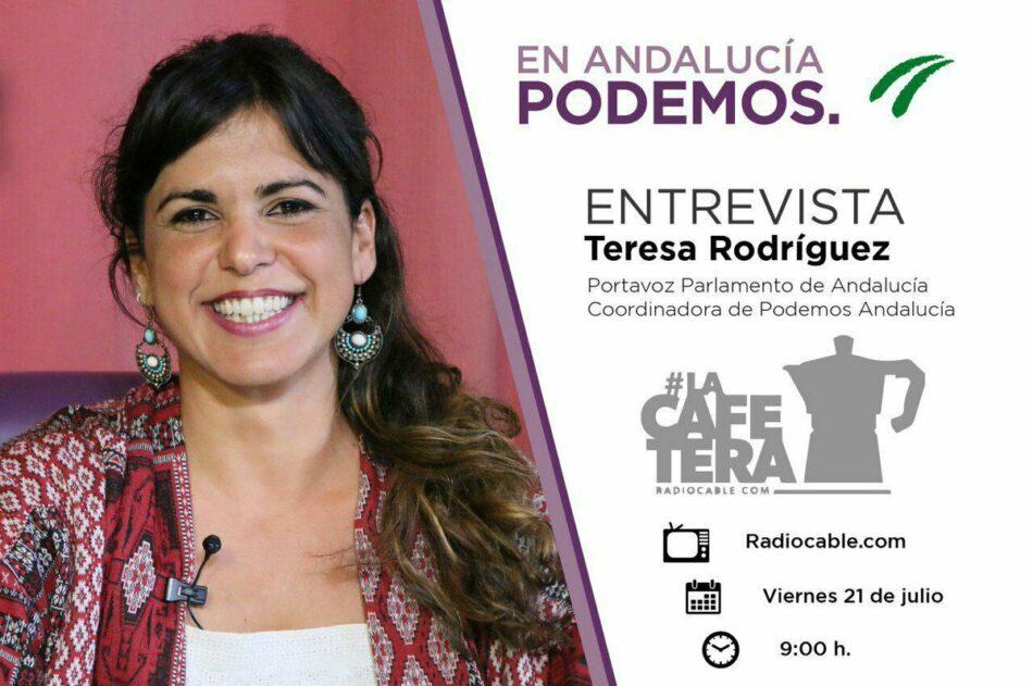 Teresa Rodríguez cuestiona el posible de gobierno con PSOE en Castilla La Mancha: «No podemos permitirnos no mejorar la vida de la gente cuando ostentamos responsabilidades de gobiernos»