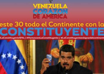 Alba Movimientos: Venezuela Corazón de Nuestra América, La Constituyente late en nuestros pueblos