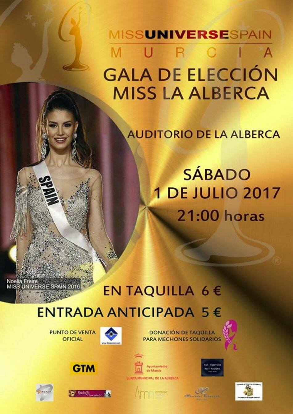 Cambiemos La Alberca denuncia la decisión del pedáneo de ceder gratuitamente el auditorio para la gala de Miss Murcia