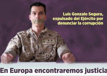 Convocatoria acto en Parlamento Europeo: Extte. Luis Gonzalo Segura. Los denunciantes de corrupción en el estamento militar