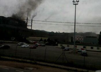 Mas nubes y explosiones en Carreño