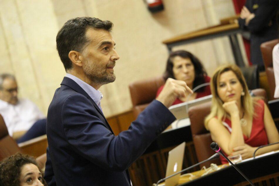 Maíllo acusa a Susana Díaz de no tener proyecto para una Andalucía con cinco ciudades en el ranking nacional de desempleo
