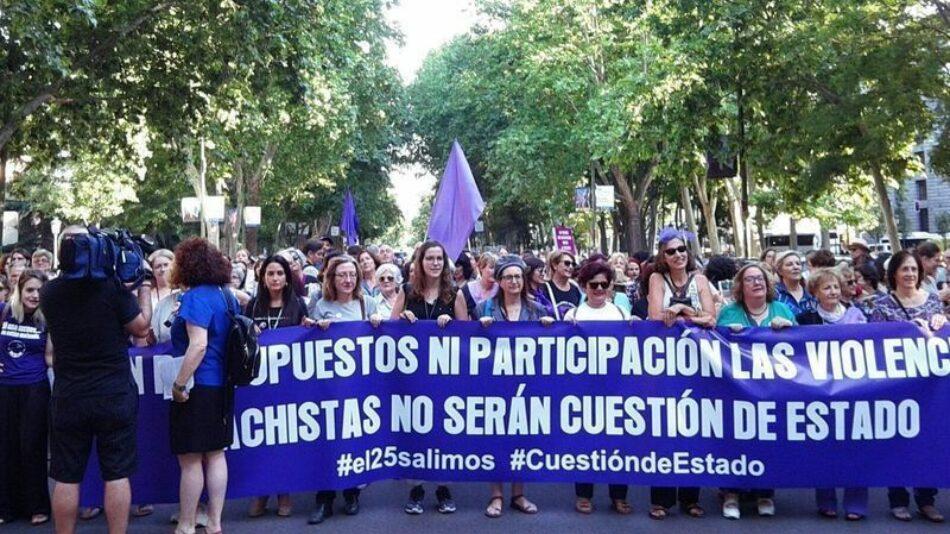 Contra el silencio y aplazamiento del Pacto de Estado contra la Violencia de Género