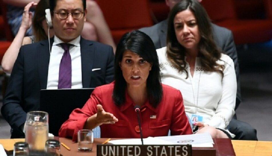 La embajadora de EEUU en la ONU pide el desarme de Hezbolá