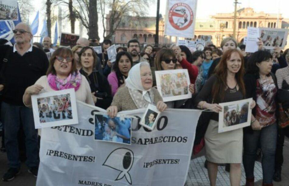 Marchas contra la represión en PepsiCo: Distintas manifestaciones confluyeron en Plaza de Mayo