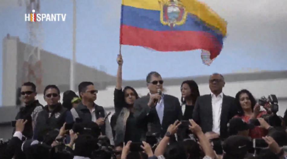 Correa advierte del diálogo de Alianza País con la oposición