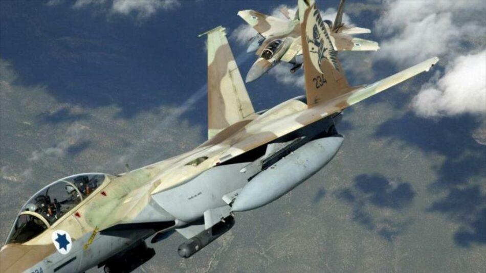 Intensos bombardeos israelíes sobre Franja de Gaza