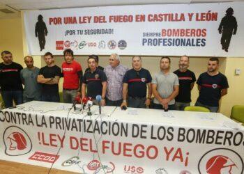 IzAb León anuncia la presentación de alegaciones al chapucero proyecto de Servicio de Bomberos de la Diputación