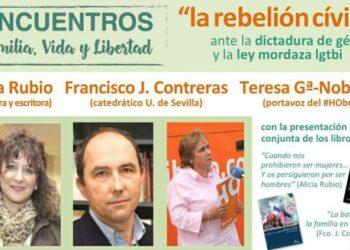 Colectivos LGTBI celebran la suspension de una «charla» de Hazte Oír en el Puerto de Santa Maria
