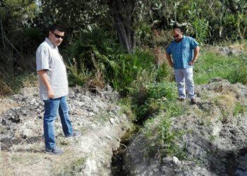 IU Jerez denuncia la dejadez continuada de Aqualia y del Gobierno Local para reparar filtraciones de agua en Cuartillos
