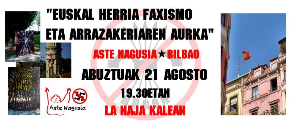 Kontzentrazioa: «Euskal Herria faxismo eta arrazakeriaren aurka»