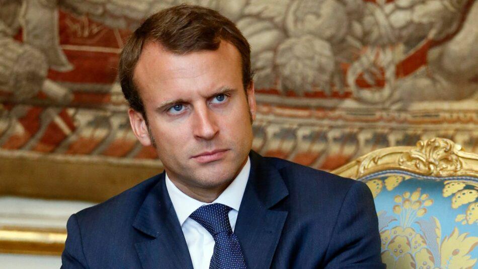 Cae popularidad de Emmanuel Macron en Francia, según encuesta