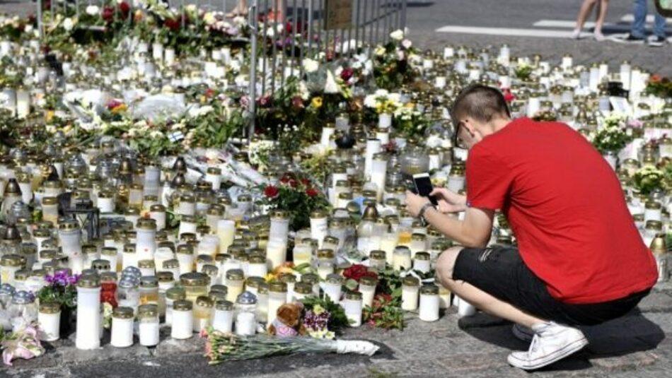 Revelan nombre del principal sospechoso de ataque en Turku, Finlandia