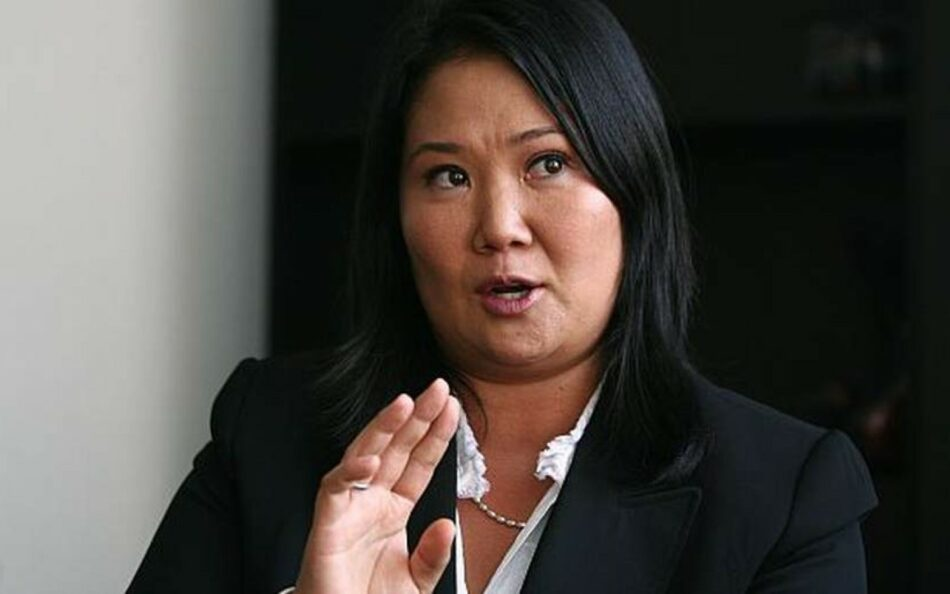 Fiscalía peruana relaciona a Keiko Fujimori con caso Odebrecht