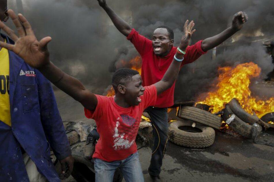 Al menos 10 muertos tras protestas postelectorales en Kenia