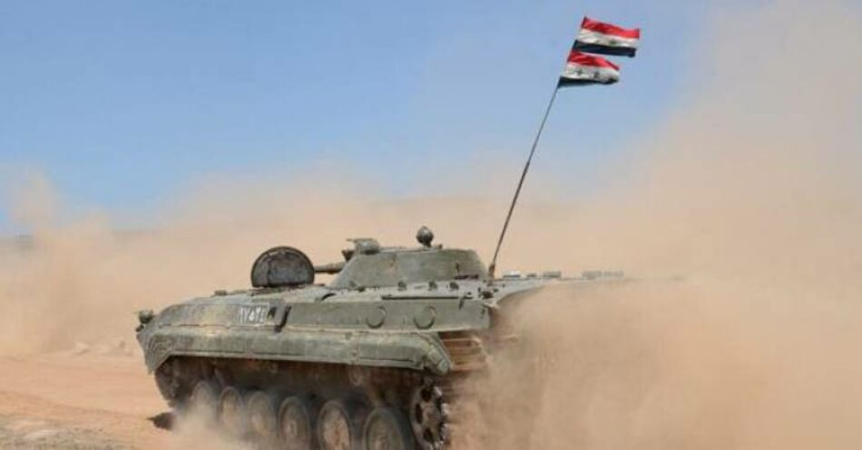 El Ejército sirio avanza para eliminar al EI en la frontera entre Raqqa y Homs