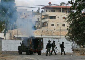 Cuatro niños palestinos atropellados por un colono israelí