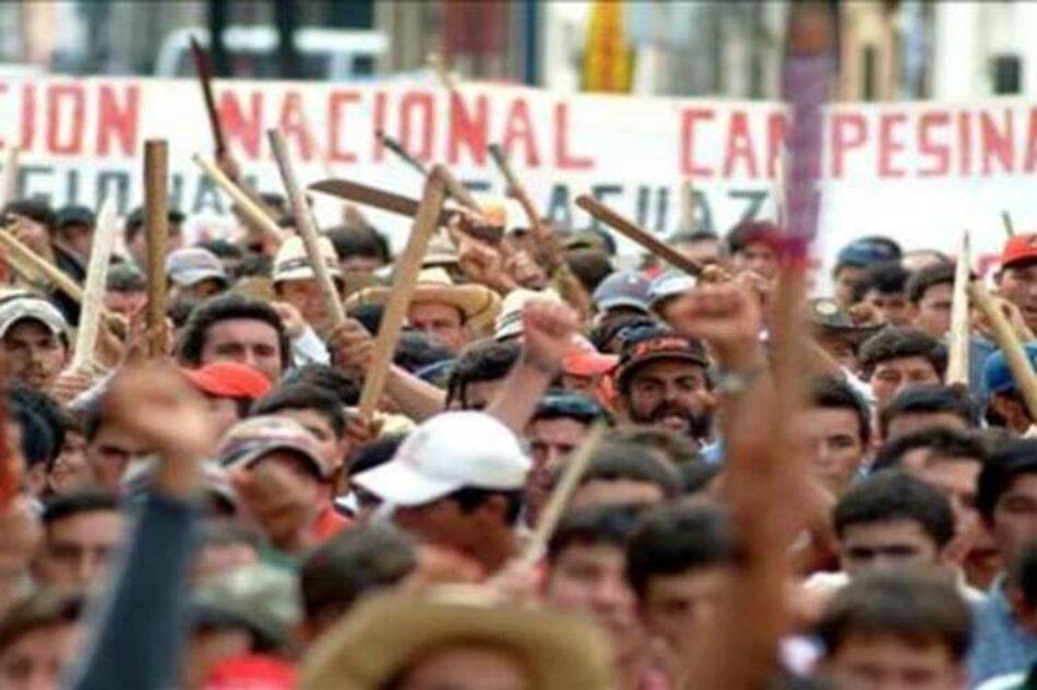 Nuevamente a las calles capitalinas campesinos paraguayos