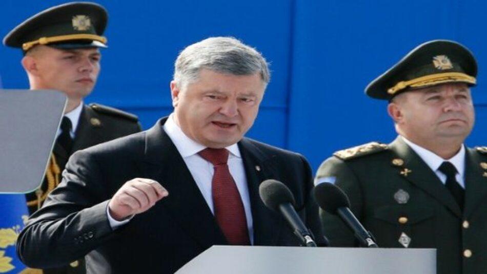 Poroshenko: Ucrania avanza hacia su integración en la OTAN