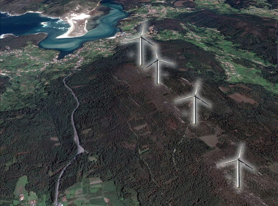 ADEGA denuncia la permisividad de la Xunta ante los nuevos proyectos eólicos de Gas Natural Fenosa en la Costa da Morte