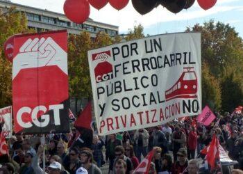 El sindicato ferroviario CGT Servicios a Bordo vuelve a convocar una huelga de cinco días: del 11 al 15 de agosto