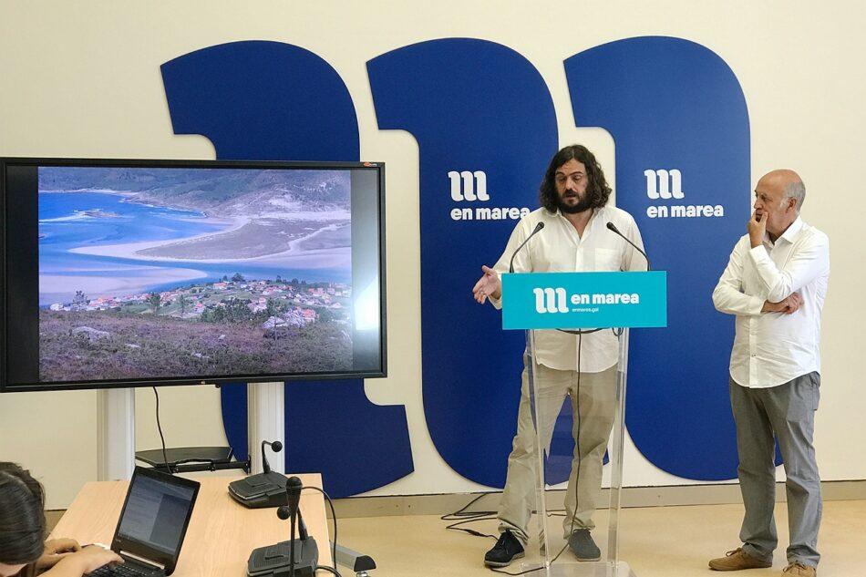 En Marea oponse aos novos proxectos eólicos de Gas Natural Fenosa na Costa da Morte
