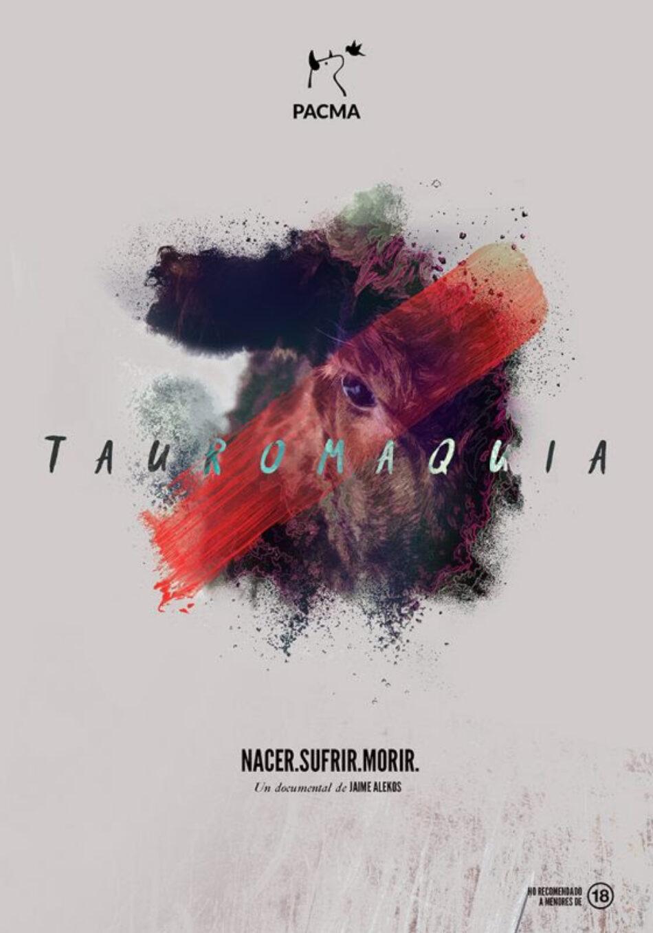 PACMA presenta 'Tauromaquia', un corto documental sobre la violenta muerte del toro