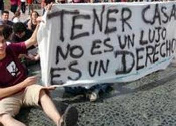 Acusamos al PP de no afrontar el problema del acceso a la vivienda en León