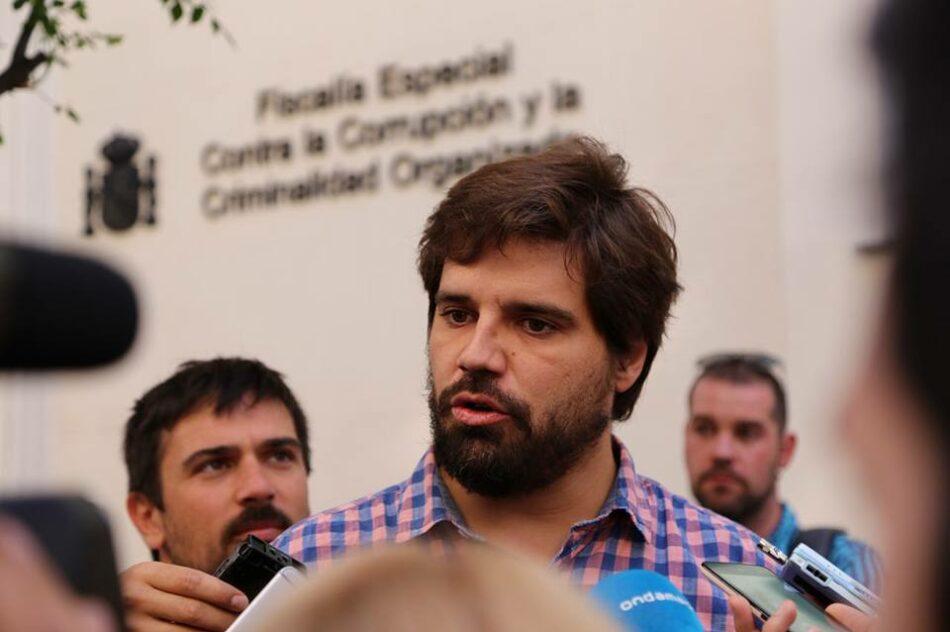 Contigo se une a la denuncia presentada en Anticorrupción por las adjudicaciones a empresas implicadas en la trama Lezo