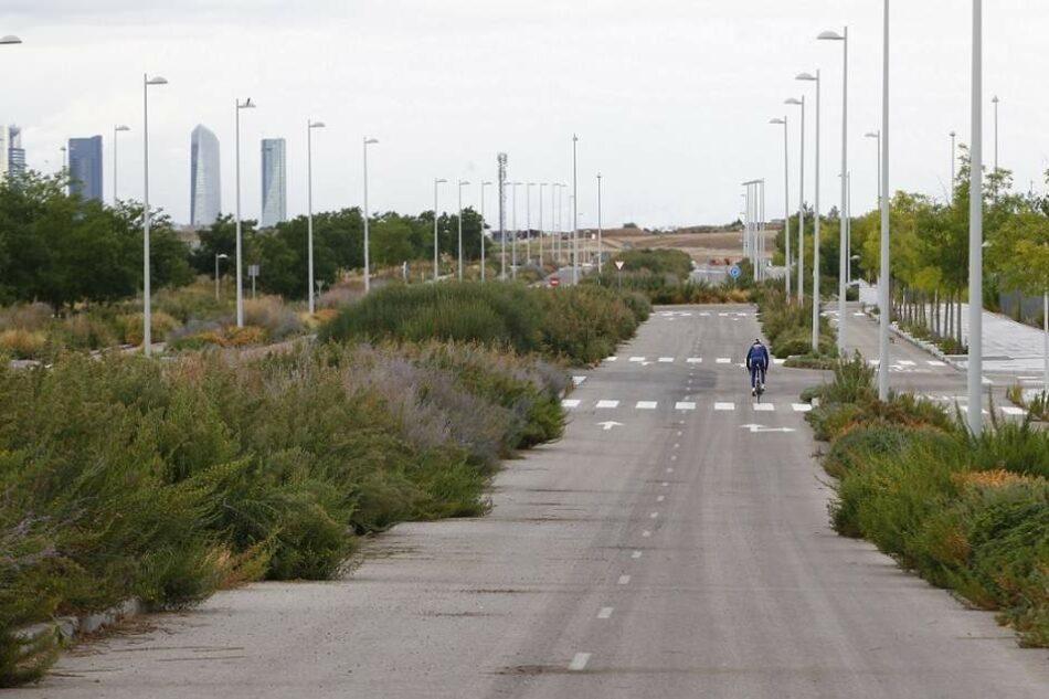 La vecindad de las nuevas promociones de Butarque (Villaverde) denuncia el abandono por parte del Ayuntamiento de Madrid