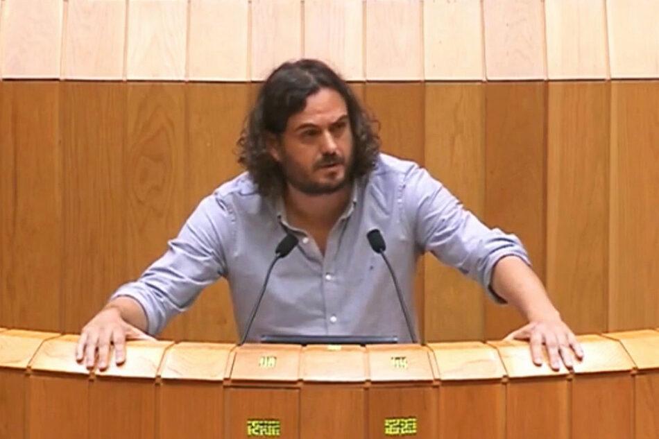 Antón Sánchez: «O Goberno do PP aposta únicamente polo espolio coa nova lei de fomento empresarial»