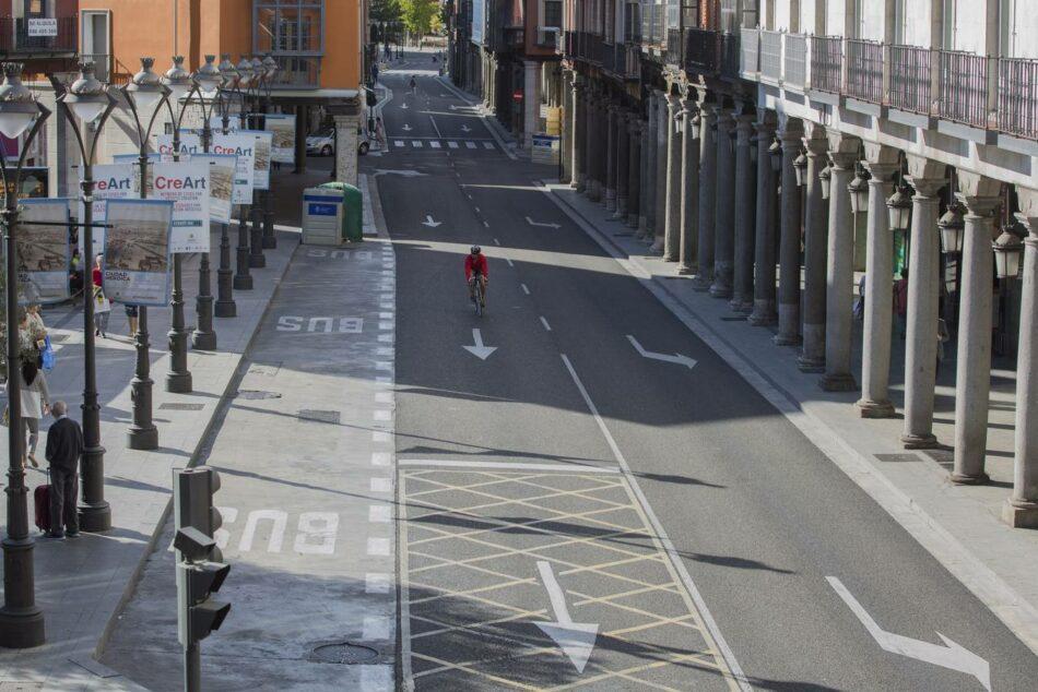 Día sin Coches: la contaminación atmosférica se desploma en Valladolid