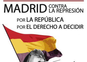 La Coordinadora 25S convoca una concentración contra la represión, por la República y por el derecho a decidir el 1 de octubre
