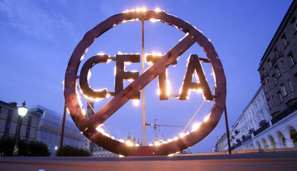 CGT advierte del ataque directo a los derechos laborales y a las libertades sociales que supondrá la entrada en vigor del CETA