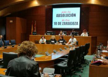 """""""Los 10 de Zaragoza"""" solicitan a las Cortes que se actúe de manera firme contra el racismo y la xenofobia"""