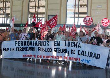 CGT convoca huelga para las empresas RENFE y ADIF el próximo día 11 de octubre