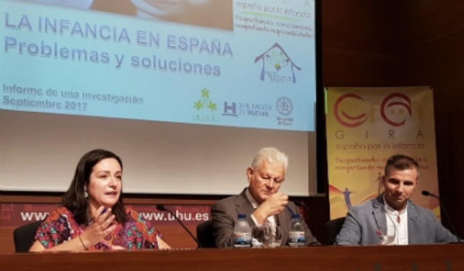 Las carencias afectivas y la desprotección social, entre los grandes problema de la infancia en España