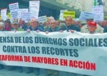 Plataforma Mayores en Acción: «1-O: El Día Internacional de las Personas Mayores, salimos a la calle para defender el sistema público de pensiones»