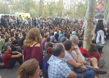 """Julian Assange a Universitats per la República: """"El control de les xarxes del govern espanyol es podria comparar amb la Xina"""""""