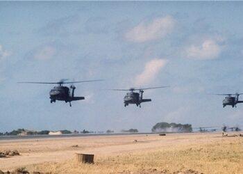 Helicópteros norteamericanos evacúan a dirigentes del EI en Deir Ezzor