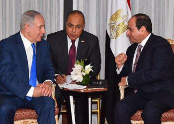 Primer encuentro público entre Sisi y Netanyahu en Nueva York