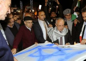 Marroquíes se manifiestan en Rabat para mostrar su oposición a cualquier vínculo con Israel