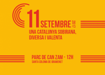 Acte de Catalunya en Comú per la Diada