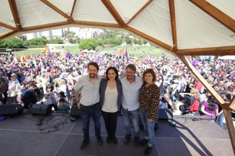 Xavi Domènech: «Ens mobilitzarem en defensa de la sobirania de Catalunya davant els reiterats atacs del PP»