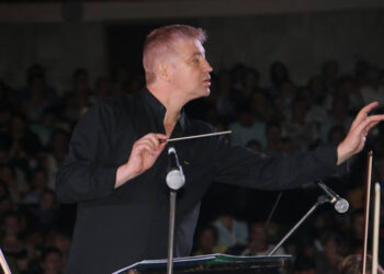 Rotundo éxito del compositor y músico malagueño Yuri Chuguev en Crimea, dentro de las I Jornadas de Cultura Andaluza