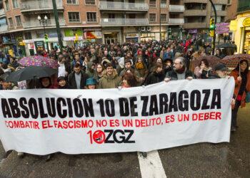 """""""Los 10 de Zaragoza"""" expondrán su caso en las Cortes de Aragón"""