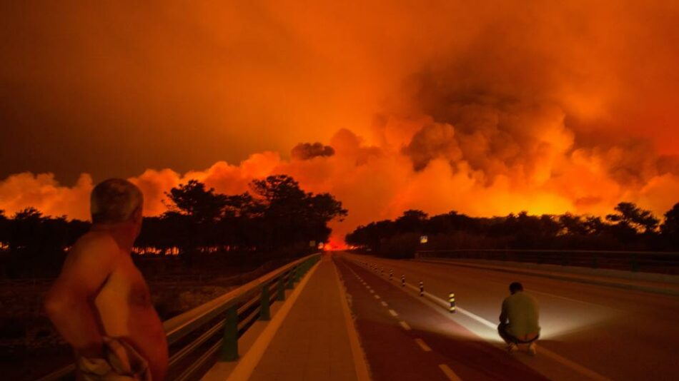 Gobierno de Portugal brindará ayuda a víctimas de incendios