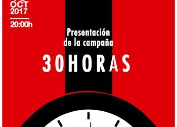 Campaña de CNT-AIT y COA: «30 horas semanales #queremostiempo #queremosvida»